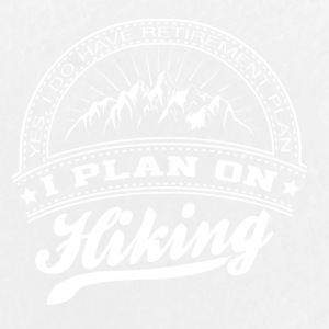 I PLAN ON HIKING - Buttons groß 56 mm