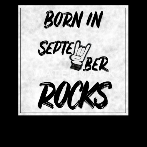 September Geburtstag Rock Rock N Roll Geschenk Frauen Poloshirt