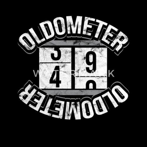Oldometer 40 Years Old Birthday Gift