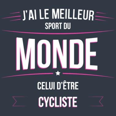 101f1d203fc57 Cycliste meilleur sport du monde - Body Bébé bio contrasté