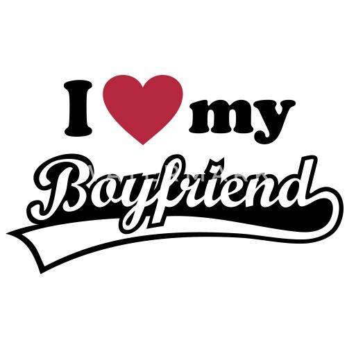 I Love My Boyfriend Ik Hou Van Mijn Vriend Buttons Middel