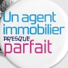 Agent Immobilier / Appartement / Maison / Immeuble - Badge moyen 32 mm