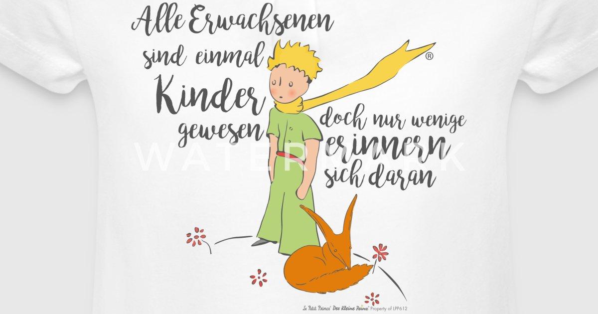 Der Kleine Prinz Mit Fuchs Zitat Erwachsene Von Derkleineprinz Spreadshirt