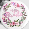 Team Bride - Buttons klein 25 mm