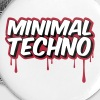 MINIMAL TECHNO - Buttons klein 25 mm