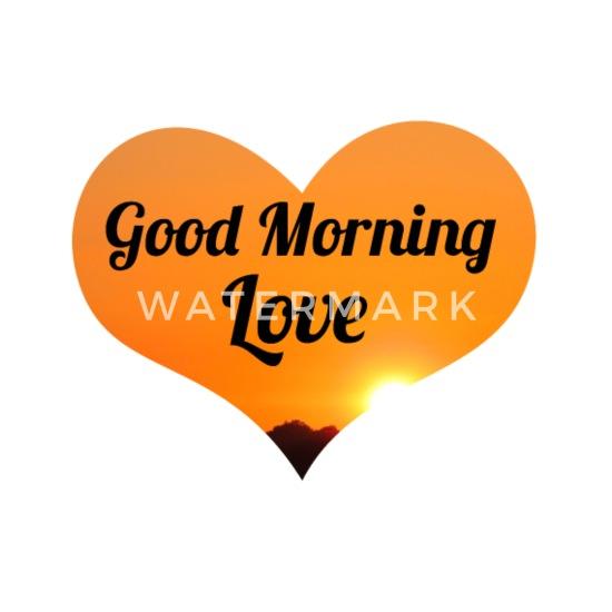 Herz Guten Morgen Aufstehen Sonne Morgen Geschenk Buttons Klein 25 Mm 5er Pack Weiß