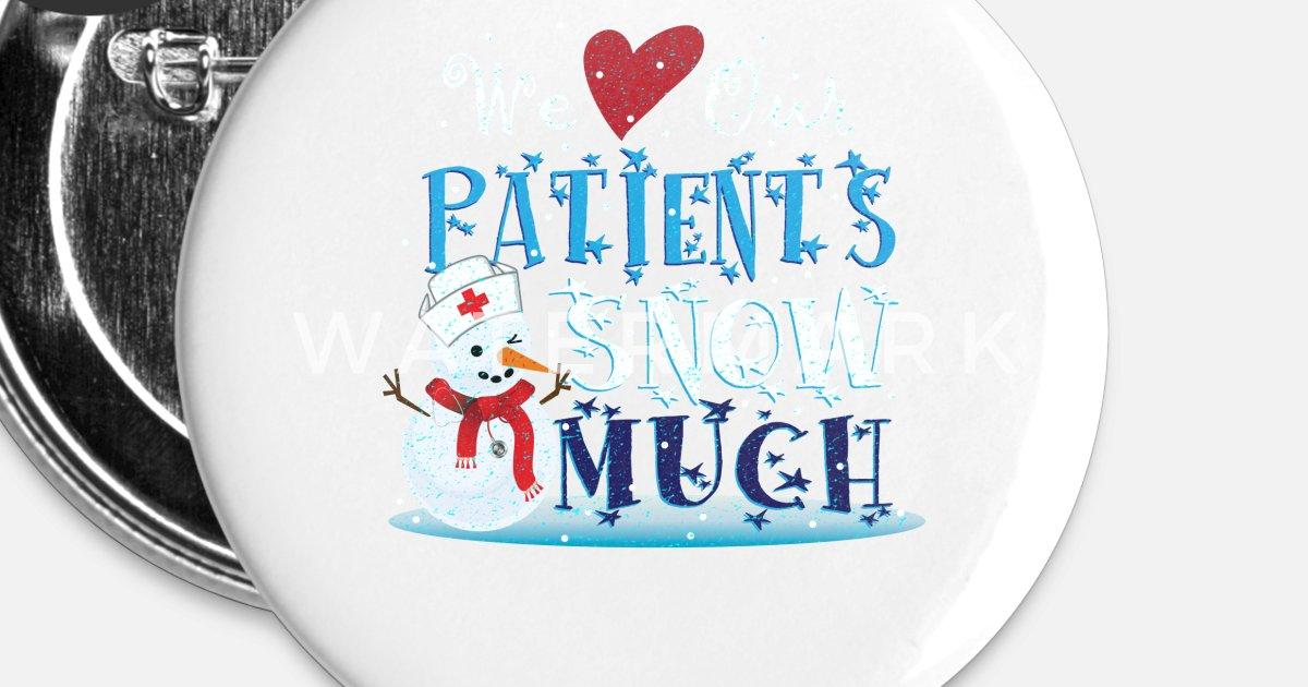 Krankenschwester Arzt Schnee Weihnachtsgeschenk von Frederick Viess ...