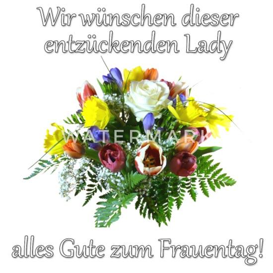 Glückwünsche Zum Frauentag Mit Blumenstrauß Buttons Klein 25 Mm 5er Pack Weiß