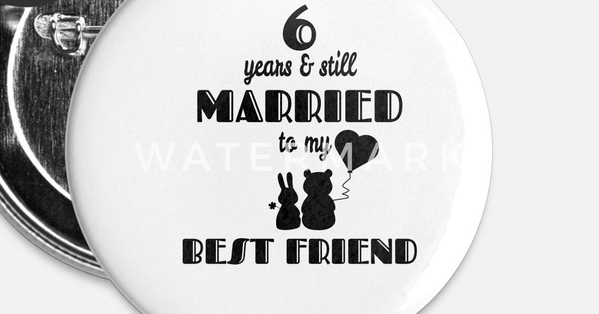 6. Hochzeitstag Bester Freund Verheiratet Geschenk von | Spreadshirt