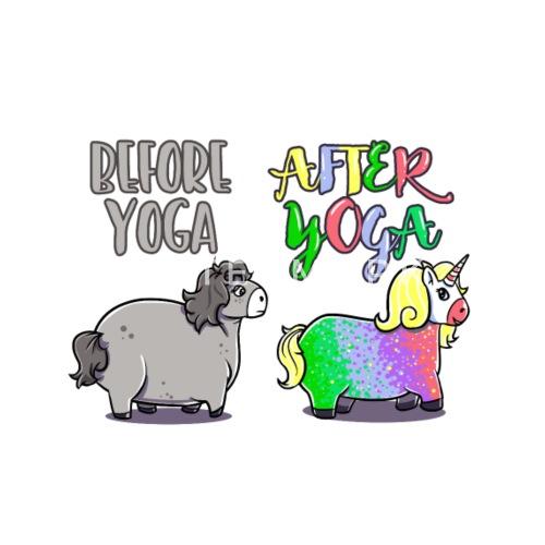 Einhorn Yoga Lustig Geschenk Geburtstag Witzig Buttons Klein