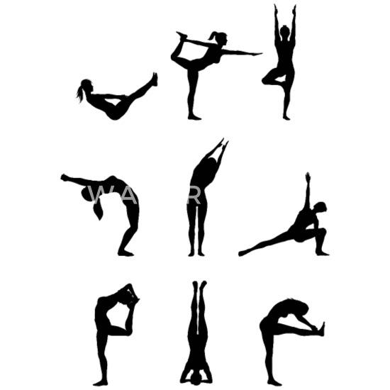 Yoga Positionen Sonnengruss Hatha Yoga Geschenk Buttons Klein Spreadshirt