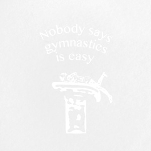Nobody says gymnastics is easy - Buttons small 25 mm