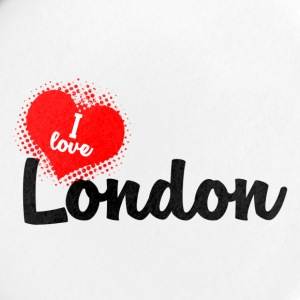 I Love London - Buttons klein 25 mm