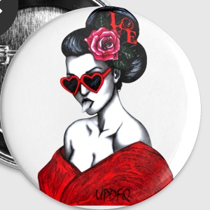 GEISHA - Buttons small 25 mm