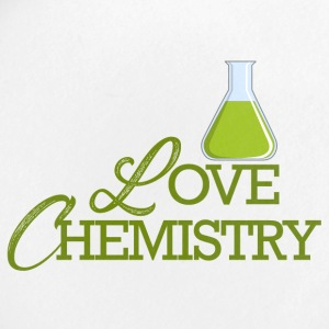 Chemiker / Chemie: Love Chemistry - Buttons klein 25 mm