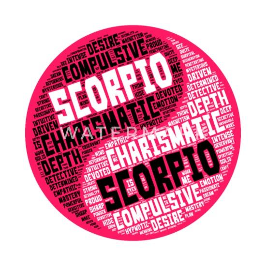 Scorpio and Scorpio Zodiac Sign Woman Love Mug Women's Pregnancy T-Shirt -  white