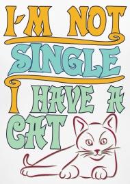 les femmes célibataires et les chats agréable