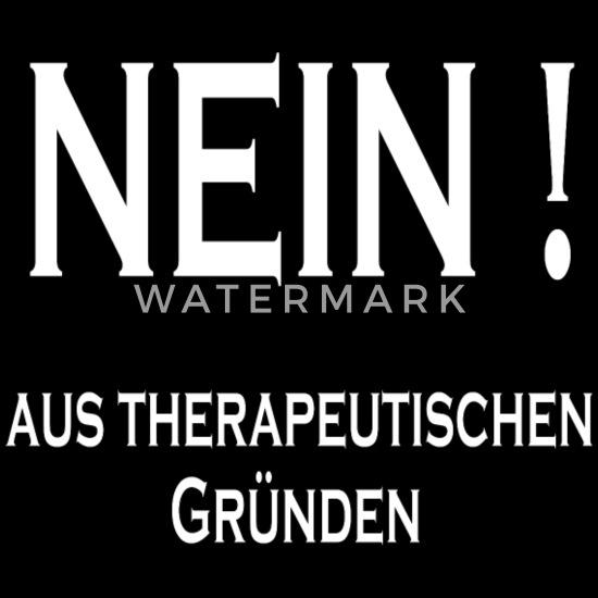 Therapie Lustiger Spruch Lustige Sprüche Geschenk Frauen Schwangerschafts T Shirt Schwarz