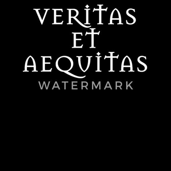Veritas Et Aequitas Lateinische Sprüche Latein Frauen Schwangerschafts T Shirt Schwarz