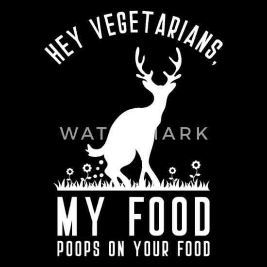 T-Shirt Mein Essen scheißt auf dein Essen Vegetarier Sprüche lustiges Geschenk