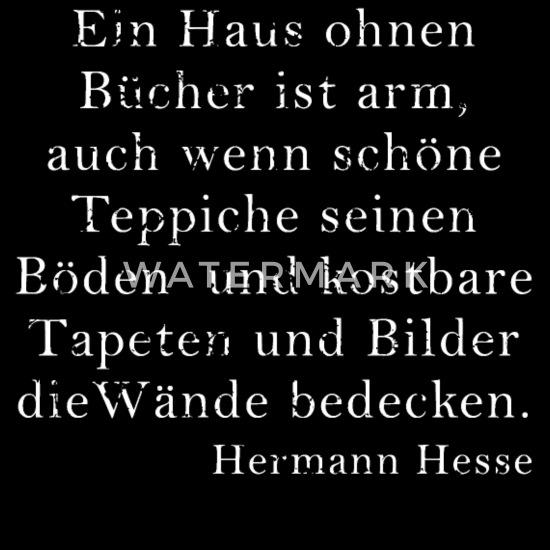 Hermann Hesse Zitat Literatur Spruch Dichter Schwangerschafts T Shirt Spreadshirt