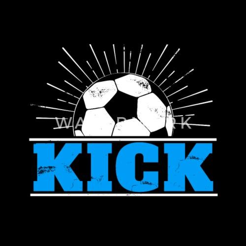 Kick Fussball Geschenk Zu Weihnachten Kinder Frauen Schwangerschafts T Shirt Schwarz
