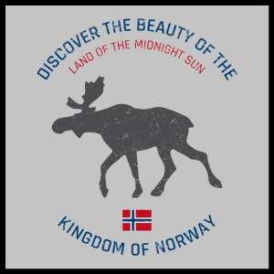 Norway vintage button (poster)