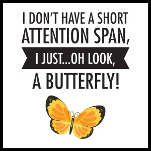 I Do not Have A Short Attention Span ...