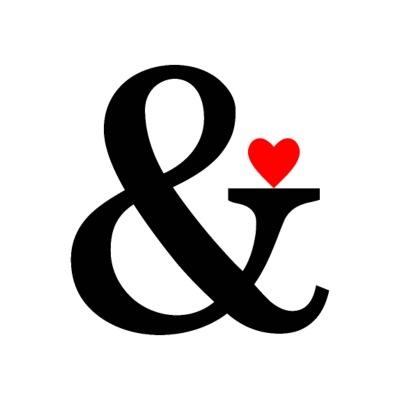 Ampersand Heart - Et Sign & Love