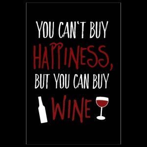 Can not buy happiness, but wine