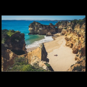 Beach Portugal Algarve lonely sun holiday