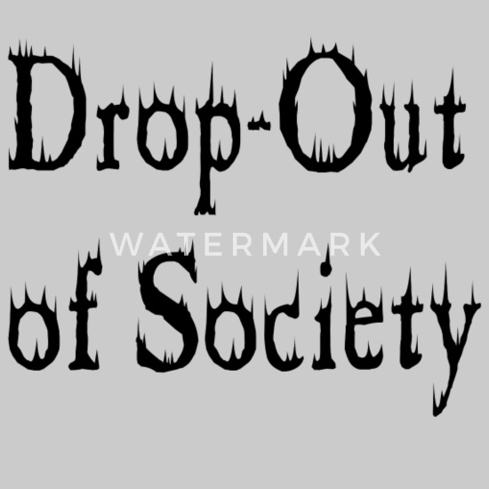 Dropout fra Society Hettegenser for kvinner | Spreadshirt