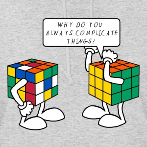 Rubik's Cube Humour Complicate Things