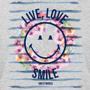 Smiley World Live Love Smile Spruch Aquarell