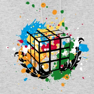 Rubik's Cube Colourful Splatters