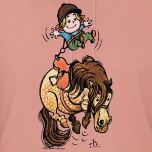 Thelwell Funny Illustration Bucking Horse