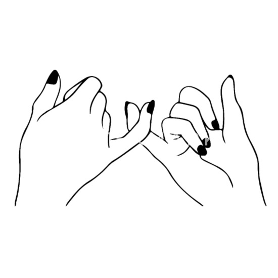 Zeichnung Freundschaft Hände Finger Hunde Bandana Spreadshirt
