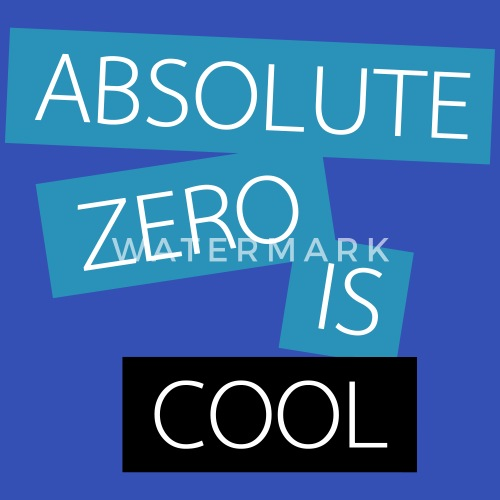 Absolute Zero Is Cool Apron Spreadshirt