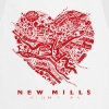 LOVE NEW MILLS Red - Cooking Apron