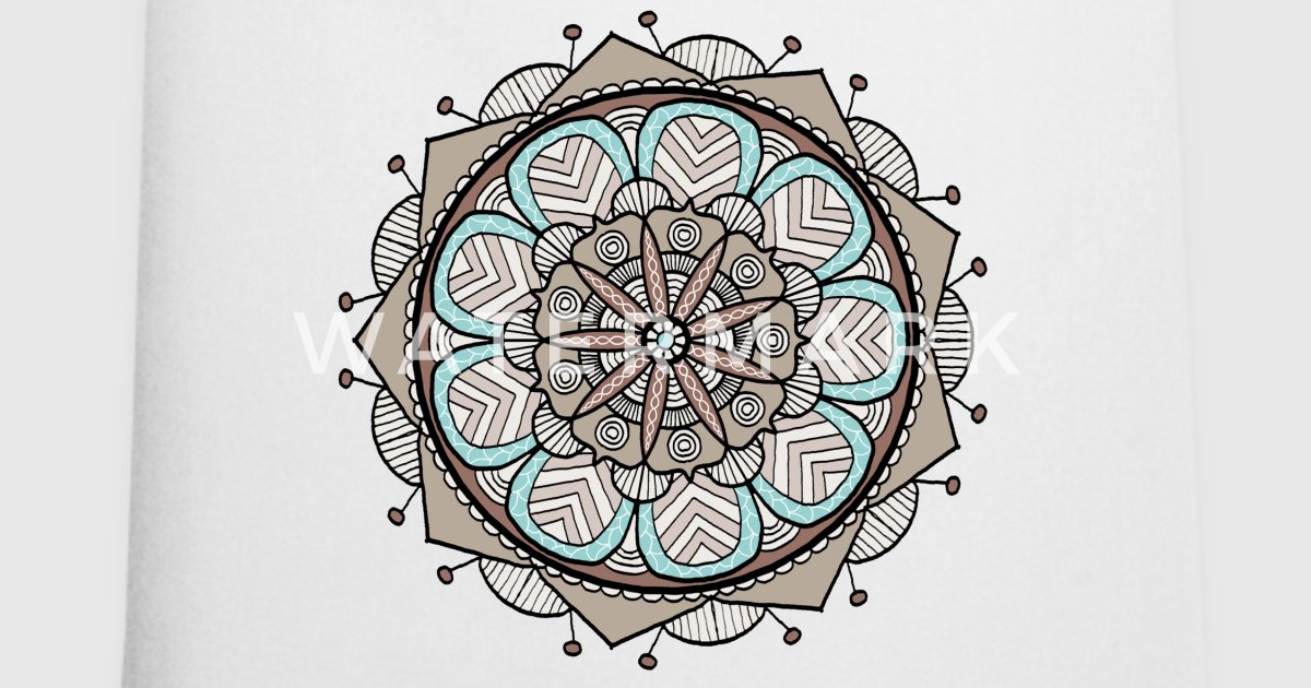 Blume Mandala von Lili-Graphik   Spreadshirt