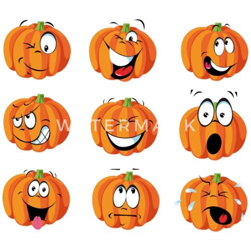 Feliz regalo traje de calabaza de Halloween Emoji por Awesome ...