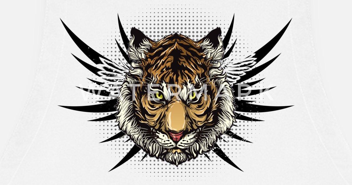 Mächtige Tigerliebe. Geschenke für Tierliebhaber. Wild von ...