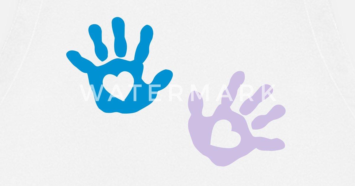 Baby - Handabdruck - Herz von kramladen | Spreadshirt