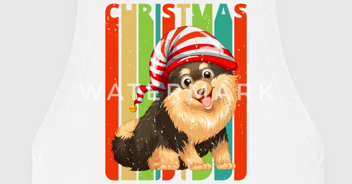 Retro Weihnachtsgeschenke für Hundeliebhaber. Familie. Kinder von ...