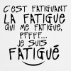 fatiguant fatigue citation 0 - Tablier de cuisine