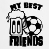 soccer beer quote best friends humor - Cooking Apron