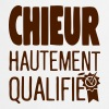 chieur hautement qualifiee citation - Tablier de cuisine