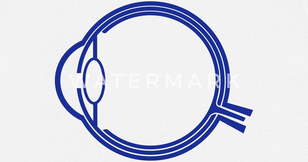 Auge Anatomie_g1a von Goldshirt | Spreadshirt