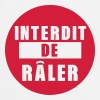 interdit de raler citation expression - Tablier de cuisine