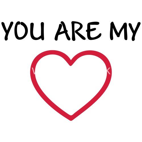 I Love You U My Boyfriend Girlfriend Wife Husband Apron Spreadshirt
